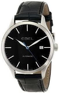 腕時計 EBEL Men's 1216089 Ebel 100 Analog Display Swiss Automatic Black Watch【並行輸入品】