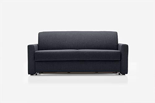 REPOSA Monza Sofas, Stoff, Graphit, 191 x 98 x 80 cm