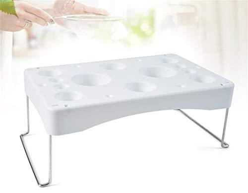 Klappkuchen Spritzbeutel Rack Spritzbeutel Spritzbeutelhalter Tablett Creme Arbeitstischhalter Kuchen Dekor Werkzeug