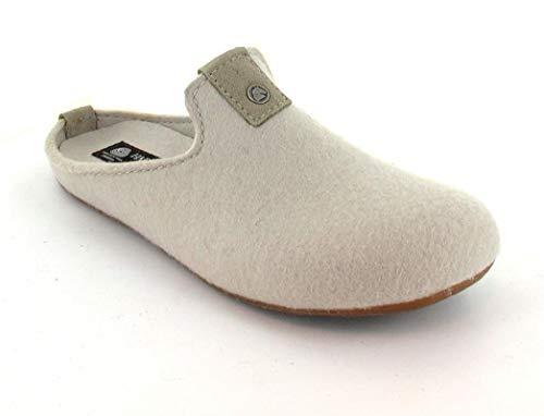 Haflinger Unisex-Erwachsene Lykke Pantoffeln beige 49), 42 EU