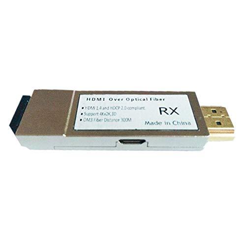 Cimoto HDMI LWL Extender OM3 4Kx2K 300M Multimode Kabel LWL HDMI Konverter