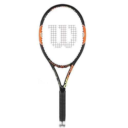 Raquetas De Tenis Jugador Casual Y Principiante Portátil Avanzada for Uso Adulto 69cm 27 Pulgadas (Color : Black and Orange, Size : 69cm/27 Inches)
