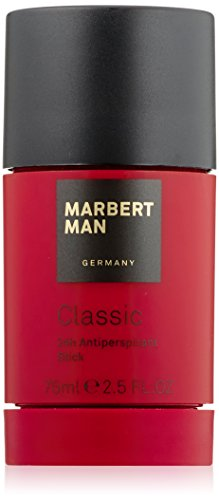 Marbert Classic homme/ man, 24 Hour Antiperspirant Stick, 1er Pack (1 x 75 ml)