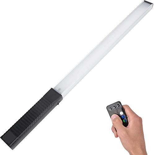 DAUERHAFT Fülllicht 12 Stufen Helligkeit Einstellbare LED-Videolicht Helligkeit 32 Stunden Aluminiumlegierung, für Live-Boardcasting, für Fotografie