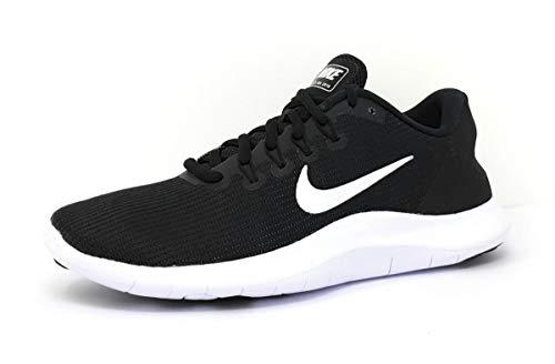 Nike Wmns Flex 2018 RN, Zapatillas de Entrenamiento Mujer, Multicolor (Black/White/Black 018), 37.5 EU