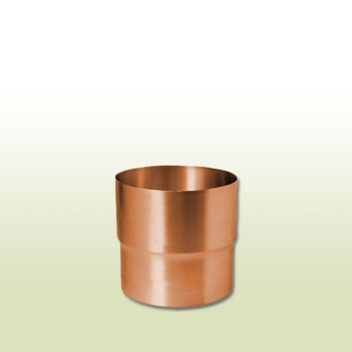 Kupfer Steckmuffe Fallrohrverbinder für Rohre DN 100