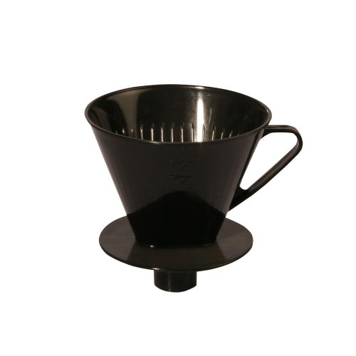 Kaffeefilter für 4 Tassen mit Stutzen Kunststoff