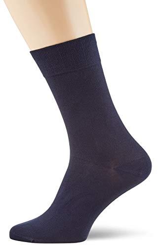 "Nur Der Herren Socken ""Bambus Komfort Socke"", 497567, Gr. 43/46 blau (maritim)"