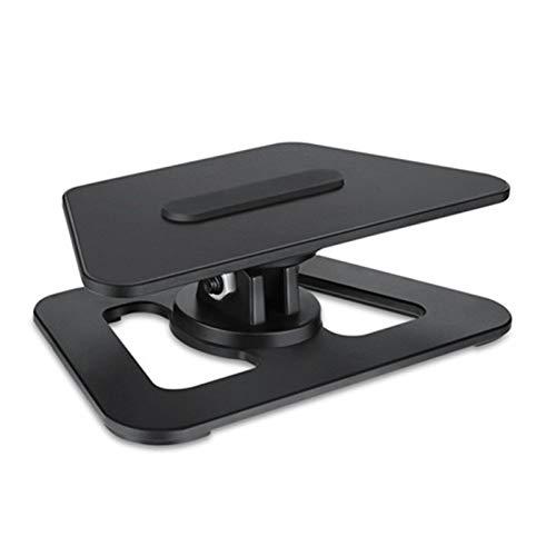Mogzank Soporte para Tablet PC Soporte Giratorio de 360 Grados Base para el Hogar Soporte de Montaje MagnéTico Adecuado para Amazon Show5 Negro
