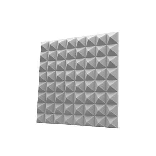 Trampa de graves para panel acústico, 30PCS Reducción de ruido Alta...