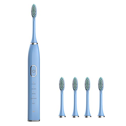 WDFVGEE Electric Toothbrush Rechargeable 31000time/min Ultrasonic Washable Electronic for Sonic Cleansing