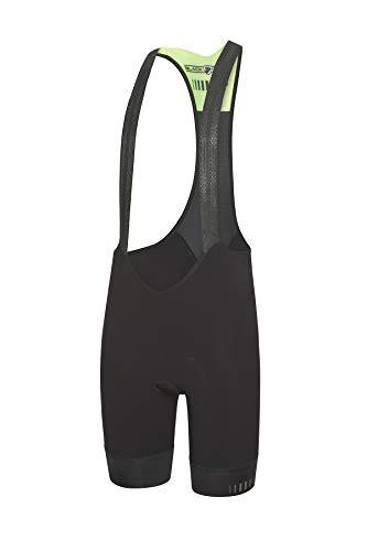Zero Rh+ Black Mamba Airx Bibshort Abbigliamento; Man; Bike; Bib & Pant, Uomo, Black/Fluo Green/Reflex, M