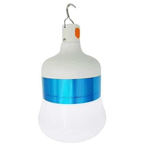 OSALADI 28W 6500K luz blanca fría LED recargable bombilla luz de camping luz de emergencia luz
