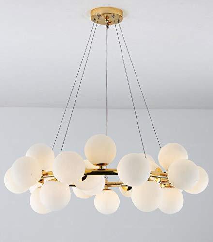 YMLSD Araña, Candelabro Posmoderno Araña Nórdica Araña Sala de Estar Larga Linterna Personalidad Iluminación Creativa Cristal Chandelier