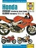 Haynes Honda Vtr1000F Firestorm (Super Hawk) & Xl1000V Varadero: Service and Repair Manual (Haynes Service and Repair Manuals)