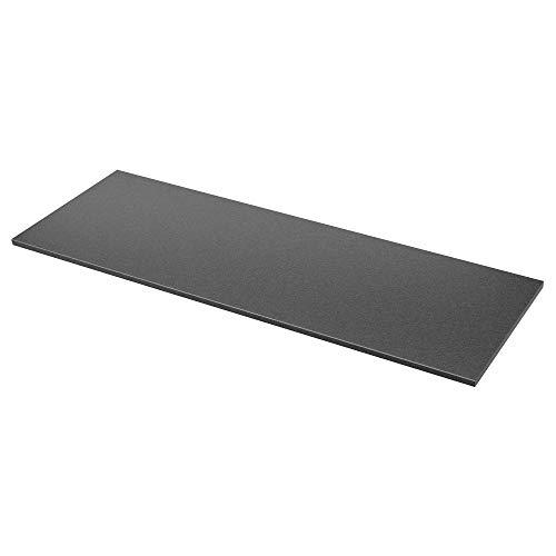 EKBACKEN wykonany na zamówienie blat roboczy 63,6-125 x 2,8 cm efekt czarnego kamienia / laminat