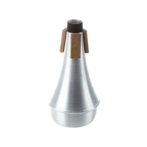 SODIAL(R)Silber Trompete Schalldaempfer Aluminium Daempfer fuer Jazz Musik