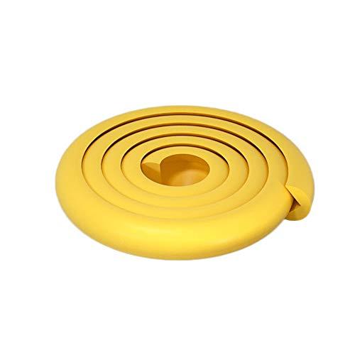 SACYSAC Anti-Kollisions Corner Pad Rand Antikollisionsstreifen, Schaumrand Pufferstreifen für Glas Schreibtisch Möbel, Etc,Gelb,10m