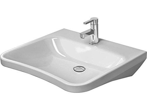 Duravit Waschtisch DuraStyle Vital Med 650 mm ohne Überlauf, ohne Hahnloch, weiß WGL, 23306500701