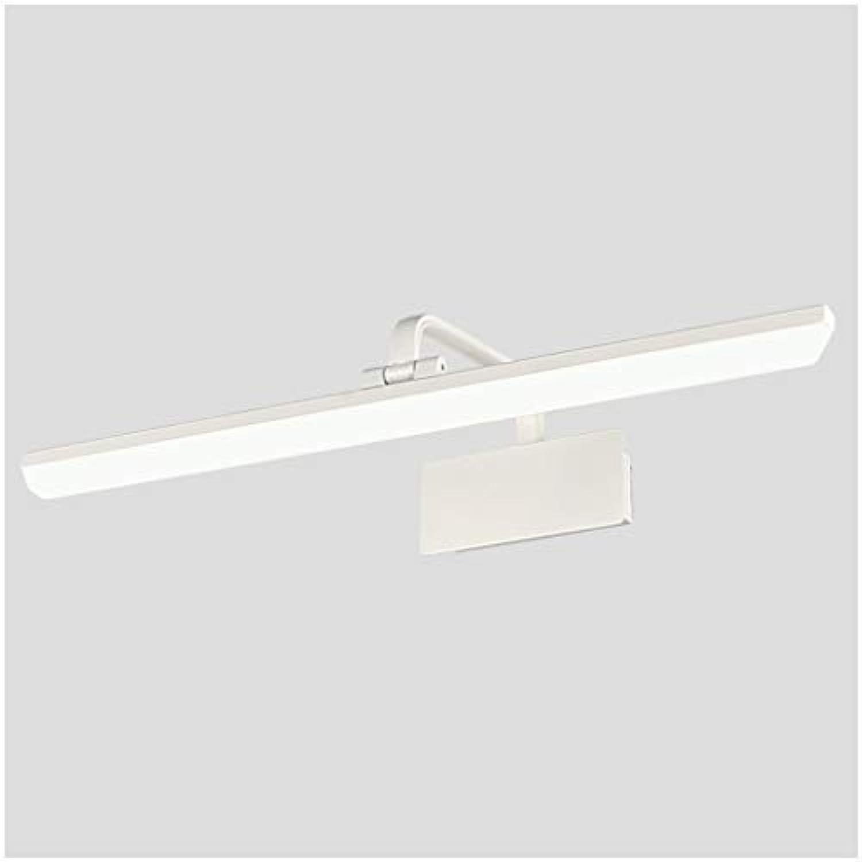 Spiegel Frontleuchte Retro Led Badezimmerspiegel Schrank Licht Wasserdicht Anti-Fog Schminktisch Make-Up Lampe Spiegellicht Lostgaming (Farbe   Weies Licht, gre   60cm)