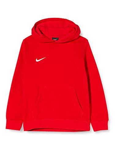 NIKE Y Hoodie Po FLC TM Club19 Sudadera, Niños, University Red/University Red/White/White, XL