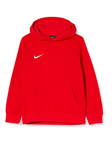 Nike Unisex-Kinder Hoodie Po Fleece Tm Club19 Kapuzenpullover, Rot (university red/White), XS