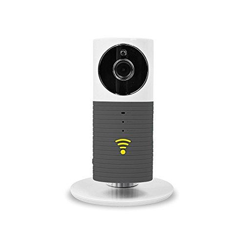 Fancytech New Clever Dog Smart Camera con 960P HD 120 ° Wide Angel Lens Support TF Card (fino a 128 G) Mini sicurezza wireless Baby monitor telecamera di sorveglianza-Grigio
