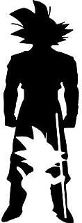 silhouette goku