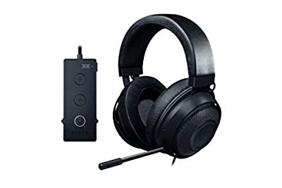 Razer Kraken Tournament Edition, Wired Esports Gaming Headset with Full Audio Control and THX Spatial Sound and Advanced Ergonomics