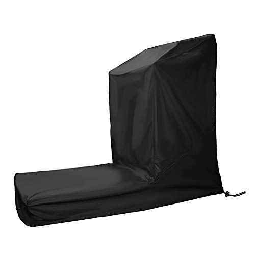 Saking Treadmill Cover with Zipper & Drawstring, Fit for Home Non-Folding Running Machine (Size B)