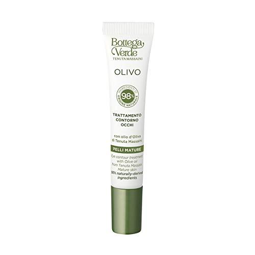 Bottega Verde, OLIVO - Trattamento contorno occhi, nutriente protettivo, con olio d Oliva di Tenuta Massaini (15 ml) - pelli mature