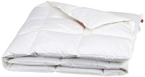 Künsemüller Sommerdaunenzudecke Decke, Baumwolle, weiß, 140x200
