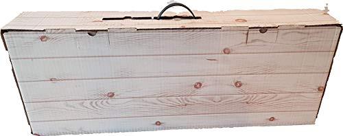 Caja para jamón   Caja de cartón para paleta de jamón   30x79x14cm   5 Unidades