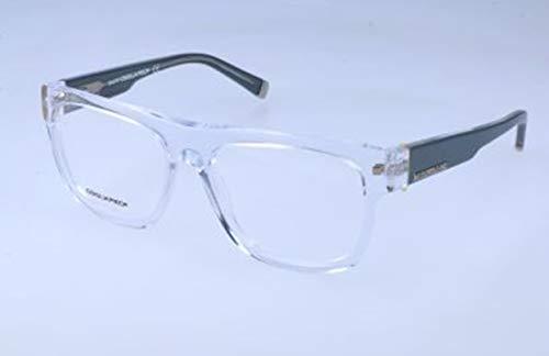 D-Squared Brillengestelle DQ5076 026-53-16-140 Monturas de gafas, Negro (Schwarz), 53.0 Unisex Adulto