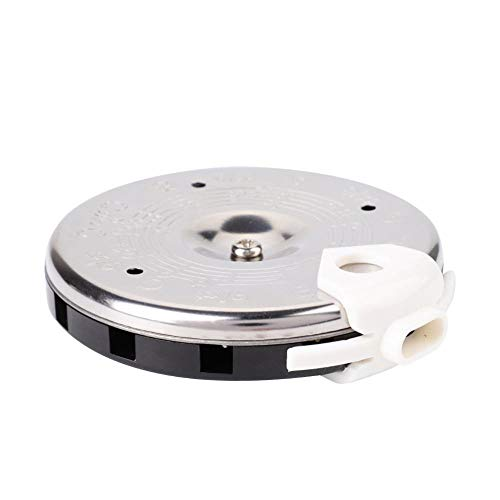 Drfeify 13 Tone Pitch Pipe Tuner, Sensitive Chromatic C-C Tuner with Case Instrument Accessories
