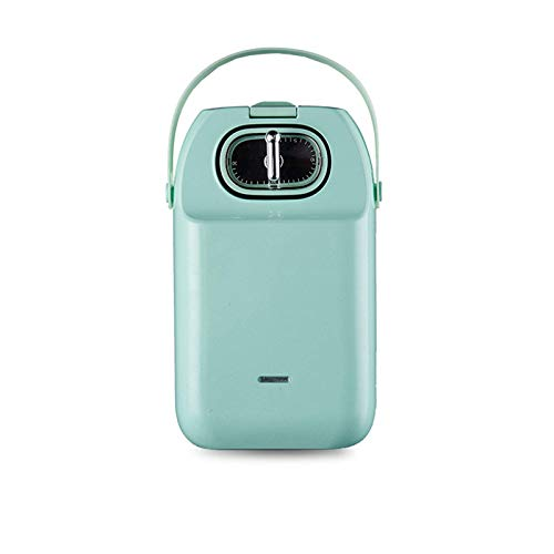 Máquina de Desayuno multifunción eléctrica Máquina de donas, calefacción de Dos Caras, diseño de Tiempo, Waffles, donas, 650w, b, 1 WTZ012 (Color : C, Size : 1)