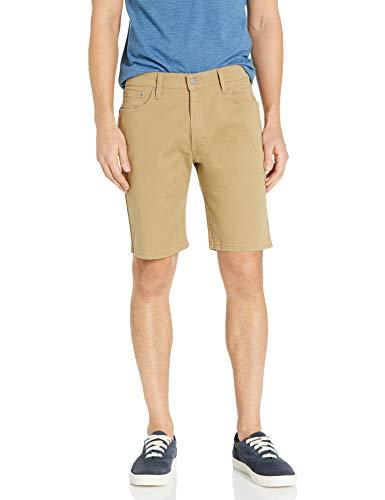 Levi's Men's 505 Regular Fit Short, Harvest Gold - Stretch Bull Denim, 34