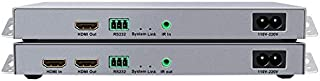 HDMI extender over power transmits the HDMI signal through the existing power cable. The wiring trouble can be completely ...