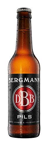 10 Flaschen Bergmann Pils a 0,33L 4,8% Vol. inc. 0.80€ MEHRWEG Pfand