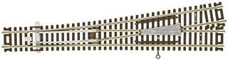 Atlas Model Railroad Co. Z Scale Code 55 Track #6 Turnout Left 2811