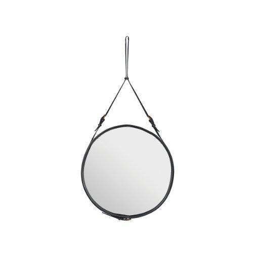 Adnet Spiegel Ø58 cm, schwarz