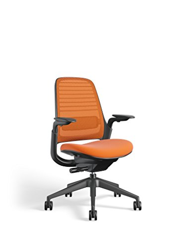 Steelcase Series 1 Work Office chair, Tangerine