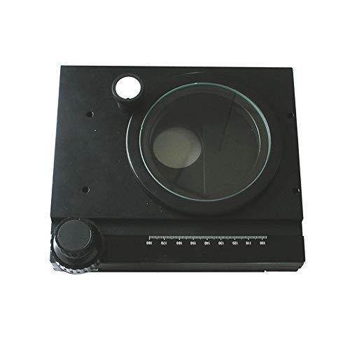 Manueller Kreuztisch Für Mikroskope - Mobile XY-Plattform 75X55mm - 360 Grad Drehbare Plattform Abnehmbarer Mess-Arbeitsständer