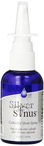 Silver Sinus™ - Colloidal Silver Nasal Spray 2oz Bottle