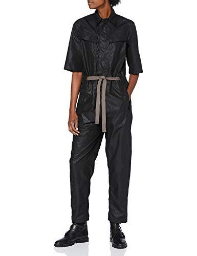 G-STAR RAW Womens Army Jumpsuit, dk Black C520-6484, XL