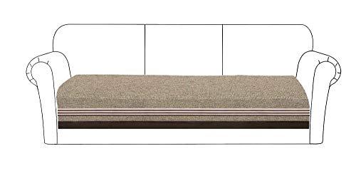 KIKIGO 3Asientos Sofa Cover Funda para,Moderno Cubre Sofa,Fundas Decorativas para sofásSofá De Esquina-Coffee_Color_35.43_35.43_82.67in(Solo 1 Pieza/no Todos los Juegos)