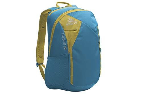 Kelty Geode Backpack, Lyons Blue/Warm Olive - 22L Daypack