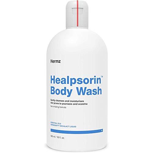 Healpsorin Hydratisierendes Duschgel: Körperwäsche für Psoriasis und empfindliche Haut - Ekzembehandlung - 500ml