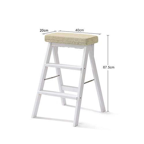 LY-ladder massief houten klapladder kruk keuken multifunctionele draagbare voetenbank hoek kruk volwassenen startpagina trapschommel plain.