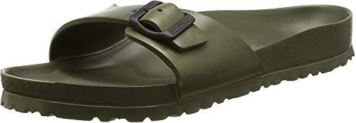 Birkenstock Schuhe Madrid Eva Normal Khaki (128251) 46 Gruen